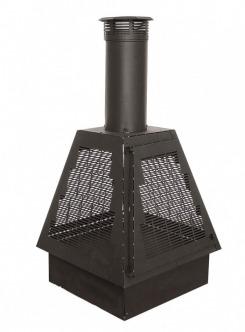 Foyers et po les au bois gaz et thanol for Pare etincelle pour foyer exterieur