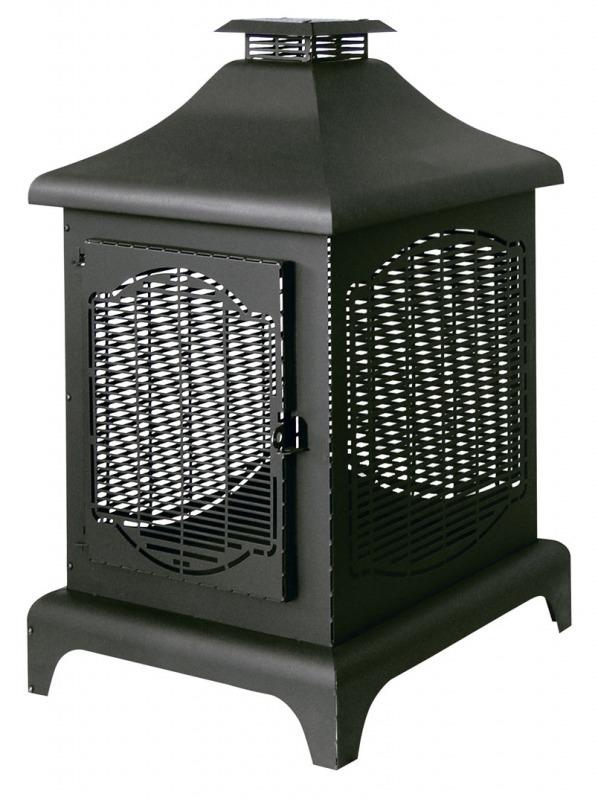poele a bois exterieur homeezy. Black Bedroom Furniture Sets. Home Design Ideas