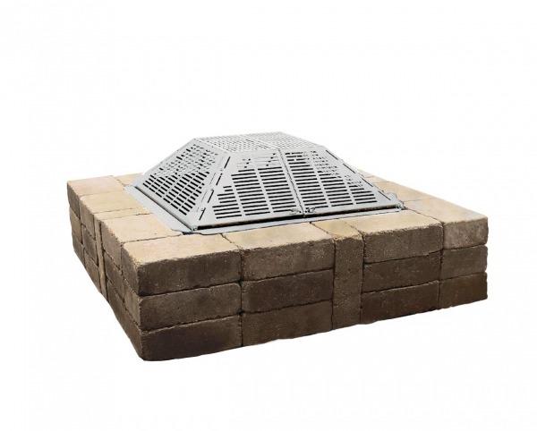 Foyers et po les au bois gaz et thanol for Foyer exterieur acier