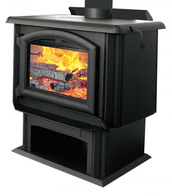 J a roby stoves and fireplaces qu bec for Poele a bois rectangulaire invicta
